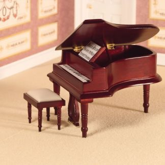1:12th scale Dolls House Music Room & Accessories