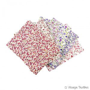 1:12th scale Dolls House Patterned Material Pieces
