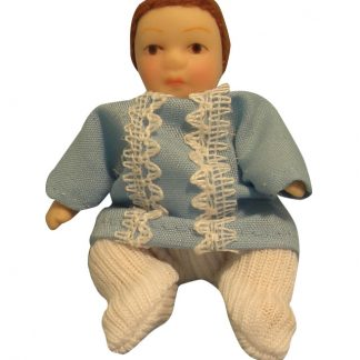 DP108 - 1:12th scale Dolls House 'Romper Suit' baby boy