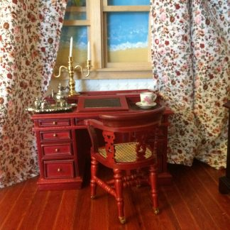 A collection of Dolls House 1:12th scale Furnished Rooms