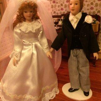 1:12th scale Dolls House Porcelain Dolls